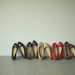 バレエシューズ フラットパンプス レディース 靴 シューズ オペラ パンプス リボン I1733|kobelettuce