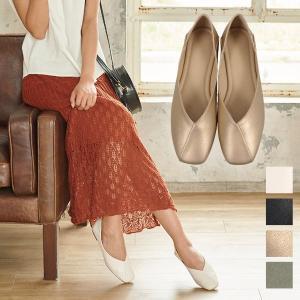 バブーシュ レディース シューズ パンプス ペタンコ フラットシューズ 靴 I1897|kobelettuce