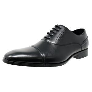 ビジネスシューズ 内羽根 ストレートチップ 紳士靴 軽量 撥水 LB208