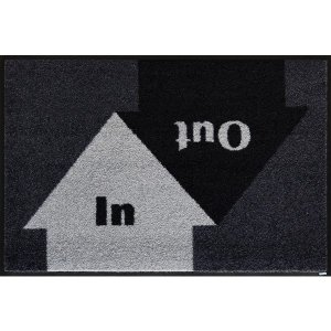 玄関マット 屋外 室内 洗える 滑り止め wash+dry In&Out 50×75cm|kobelongtail|02