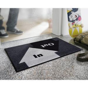 玄関マット 屋外 室内 洗える 滑り止め wash+dry In&Out 50×75cm|kobelongtail|03