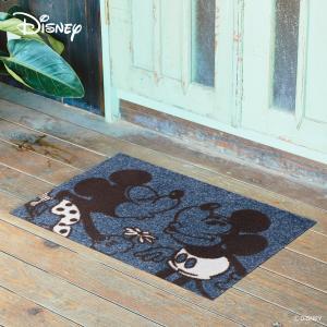 玄関マット Disney ディズニー Mickey/ミッキー&ミニー 50×75cm|kobelongtail