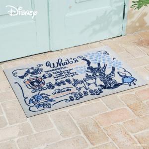 玄関マット Disney ディズニー不思議の国のアリス 60×90cm|kobelongtail