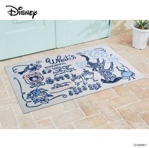 玄関マット Disney ディズニー不思議の国のアリス 75×120cm|kobelongtail