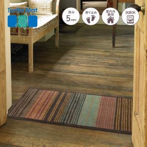 玄関マット Turtle Mat (タートルマット) TM Gradient Stripe 60×85cm|kobelongtail