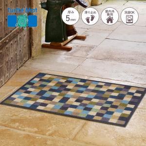 玄関マット Turtle Mat (タートルマット) TM Cotswold Tiles 60×85cm|kobelongtail