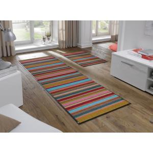 キッチンマット 洗える 滑り止め wash+dry Stripes 60×180cm|kobelongtail