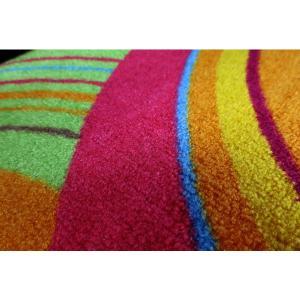 ラグ ラグマット 長方形 洗える おしゃれ wash+dry Cosmic Colours / Cosmic Colours nature 110×175 cm|kobelongtail|04