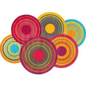 ラグマット Cosmic Colours / Cosmic Colours nature 140×200 cm|kobelongtail|02