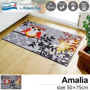 玄関マット 屋外 室内 洗える 滑り止め wash+dry Amalia 50×75cm|kobelongtail
