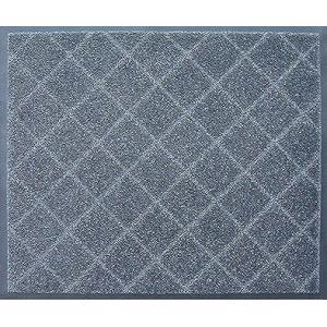 玄関マット除塵 吸水 屋外 室内 滑り止め スタンダードマット EX 90 x 180 cm  シルバー|kobelongtail