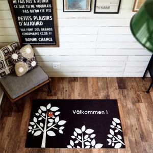 玄関マット 屋外 室内 洗える 滑り止め Valkommen 70×120cm|kobelongtail|03