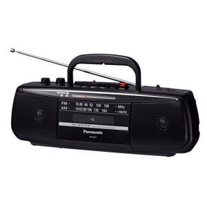 パナソニック ステレオラジオカセットレコーダー RX-FS27-K