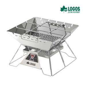 ロゴス LOGOS The ピラミッドTAKIBI L 81064162 バーベキューコンロ BBQ...