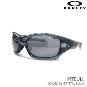 オークリー サングラス PITBULL 009161-02 CRYSTAL BLACK|kobeya-sp