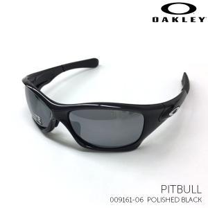 オークリー サングラス PITBULL 009161-06 POLISHED BLACK|kobeya-sp