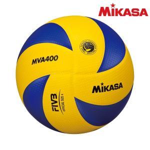 ミカサ(mikasa) MVA400 バレーボール 検定球4号 黄/青
