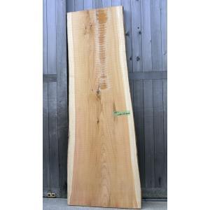 【杉板】【1点もの】杉材 無垢板 小節有り 長さ2100mm 厚み55mm 幅620mm 1枚 荒削り 耳付き 両端割れあり|kobikiya
