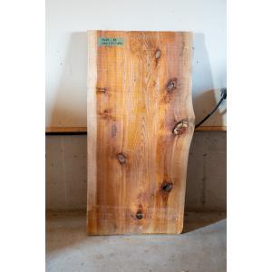 【板材】【1点もの】杉材 無垢板 節有り 長さ1360mm 厚み55mm 幅650mm 1枚 荒削り 耳付き|kobikiya