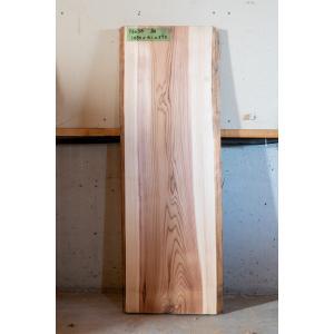 【板材】【1点もの】杉材 無垢板 節有り 長さ1080mm 厚み41mm 幅370mm 1枚 荒削り 耳付き|kobikiya