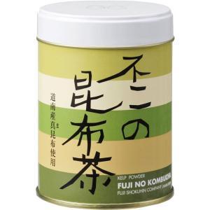 不二の昆布茶60g缶