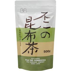 不二の昆布茶500g袋|kobucha-fuji