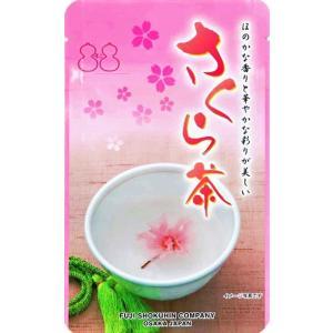 さくら茶 35g(スタンドパック)|kobucha-fuji