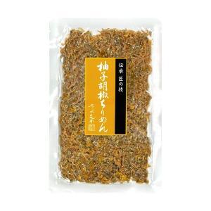 柚子胡椒ちりめん 75g|kobucha-fuji