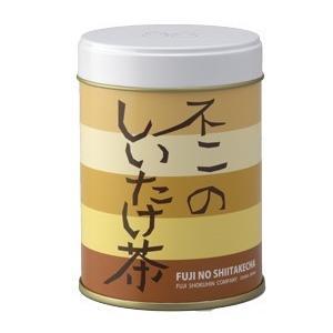 不二のしいたけ茶40g缶|kobucha-fuji