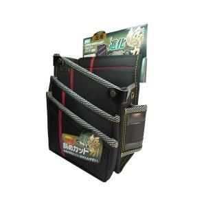 基陽 進化ウエストバッグ(左腰用)3段 ブラック・HSA17K 送料無料 同梱不可|kochaya
