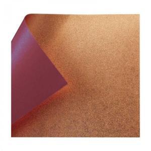 銅箔両面和紙 単色 25cm あずき 10枚入 No.7135-4 1 セット 送料無料 同梱不可