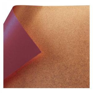 銅箔両面和紙 単色 18cm あずき 10枚入 No.7134-4 5セット 送料無料 同梱不可