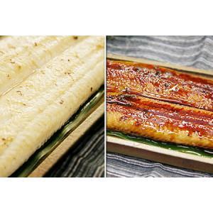 四万十うなぎ(高知産・養殖)/蒲焼・白焼Wセット|kochi-bussan
