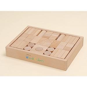 ウッドキューブ(積木)/50ピース|kochi-bussan