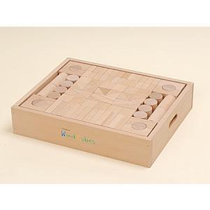 ウッドキューブ(積木)/152ピース|kochi-bussan