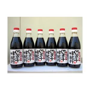 四万十味紀行 焼鮎醤油 360ml 6本セット|kochi-bussan
