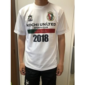 限定Tシャツ 2018 高知ユナイテッドSCオフィシャルグッズ kochi-usc