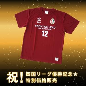 Tシャツ 2017モデル 高知ユナイテッドSCオフィシャルグッズ kochi-usc