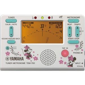ヤマハ チューナーメトロノーム TDM-700DMN4 ディズニー ミニーマウス|kochigakki