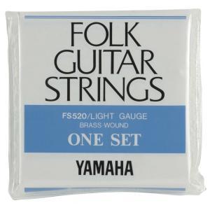 ヤマハ) フォークギター弦 (ライトゲージ) FS520|kochigakki