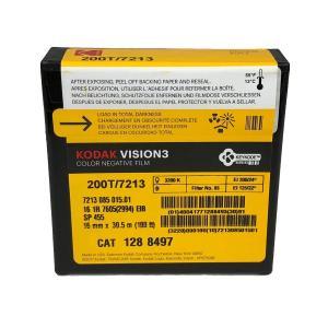 16 mm / 100ft / コダック VISION3 200T カラーネガティブ フィルム 7213 / スプール巻き 片目|kodak