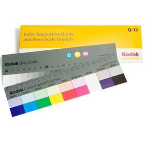 Q-13 / コダック カラーセパレーションガイド アンド グレースケール (スモール)|kodak