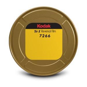 16 mm / 400ft / コダック トライ-X 白黒リバーサル フィルム 7266 / コア巻き 片目|kodak