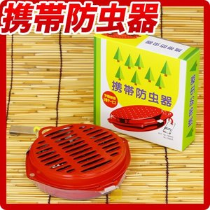 蚊取り線香ではありません 携帯防虫器|kodama-shop