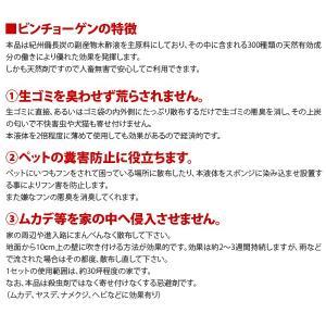 天然消臭忌避剤 備長炭防虫剤 ビンチョーゲン2本 kodama-shop 02