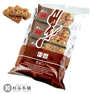 ■原材料:麦芽水飴、加工米(うるち米、食塩、食用脂)、加工黒糖、砂糖、黒砂糖、ショートニング、膨張剤...