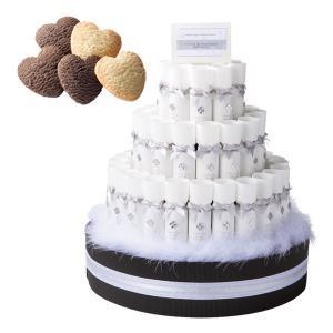 ■全体サイズ:φ420×高さ490mm  ■台サイズ:420φ×高さ300mm ■材質:ケーキ型3段...