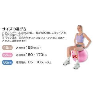 バランスボール 65cm 空気入れ付き|kodawari1|04