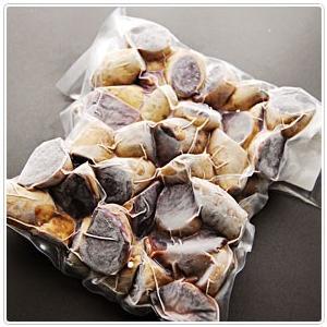 沖縄県産 蒸し紅芋皮付きカット1kg|kodawariokinawa