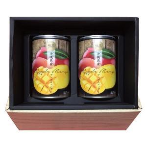 沖縄県産アップルマンゴー缶詰 (2缶入)化粧箱 kodawariokinawa 02